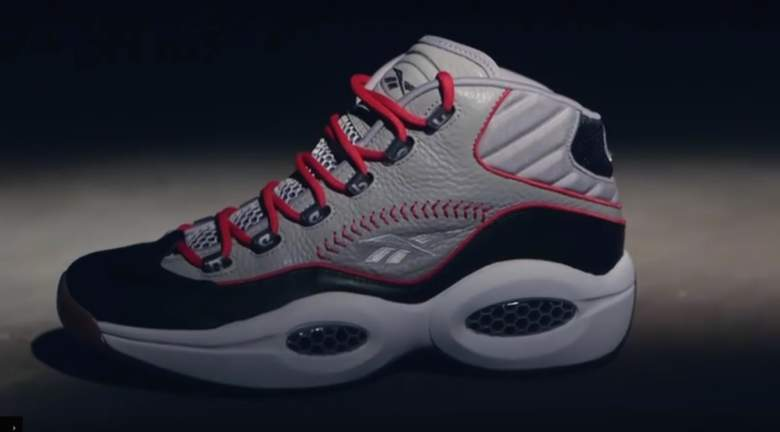 iverson, practice, hall of fame, shoe, reebok,