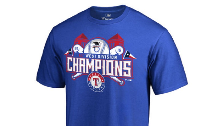 texas rangers american league al west division champions 2016 gear apparel shirts hats hoodies buy online