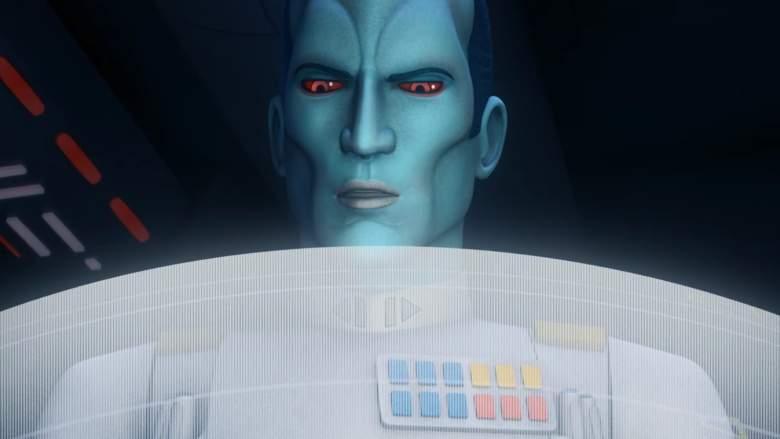 Grand Admiral Thrawn, Thrawn, Star Wars Rebels