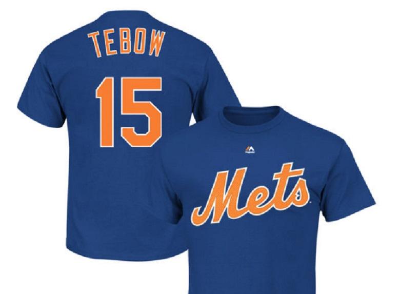 tim tebow mets gear apparel t shirts jerseys buy online