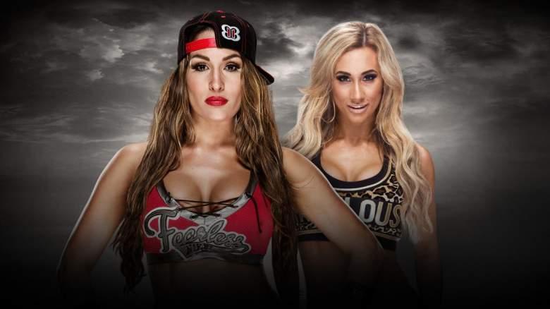 Nikki Bella Carmella, Nikki Bella Carmella match, Nikki Bella Carmella no mercy
