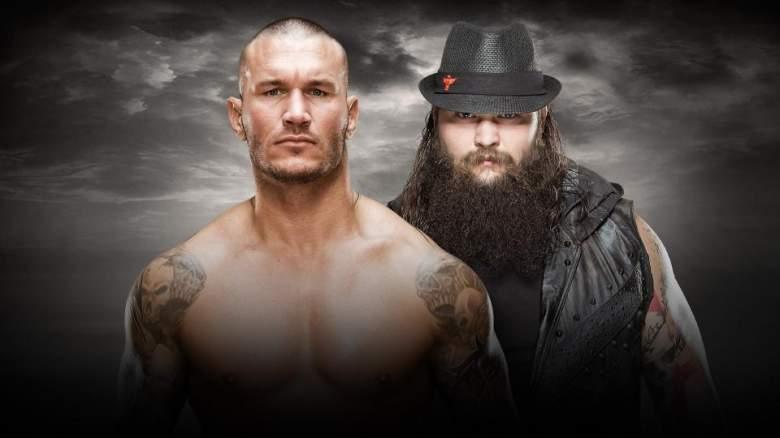 Randy Orton Bray Wyatt, Randy Orton Bray Wyatt no mercy, Randy Orton Bray Wyatt match