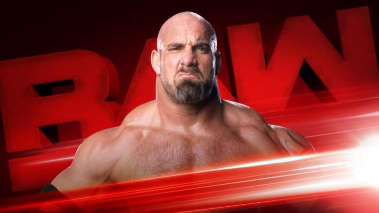 WWE Goldberg, monday night raw Goldberg, wwe monday night raw
