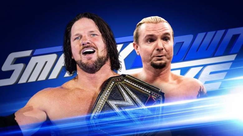 SmackDown Live James Ellsworth, James Ellsworth AJ Styles, SmackDown live october 18