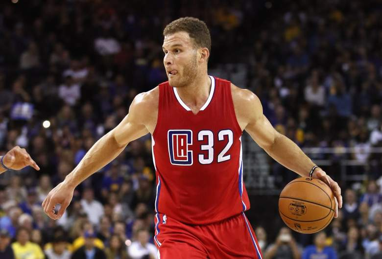 Blake Griffin Clippers vs. Warriors