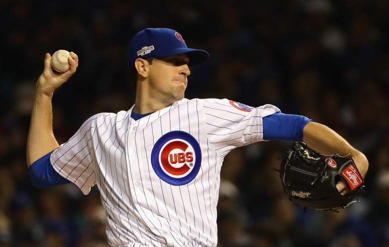 Kyle Hendricks Chicago Cubs 2016 NLCS