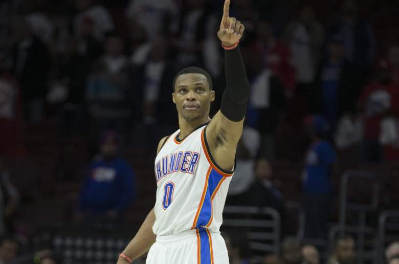 Russell Westbrook Thunder vs. 76ers