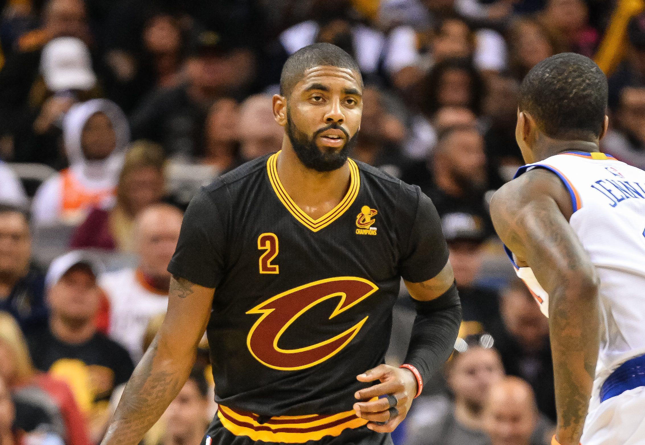 Kyrie Irving Knicks vs. Cavaliers