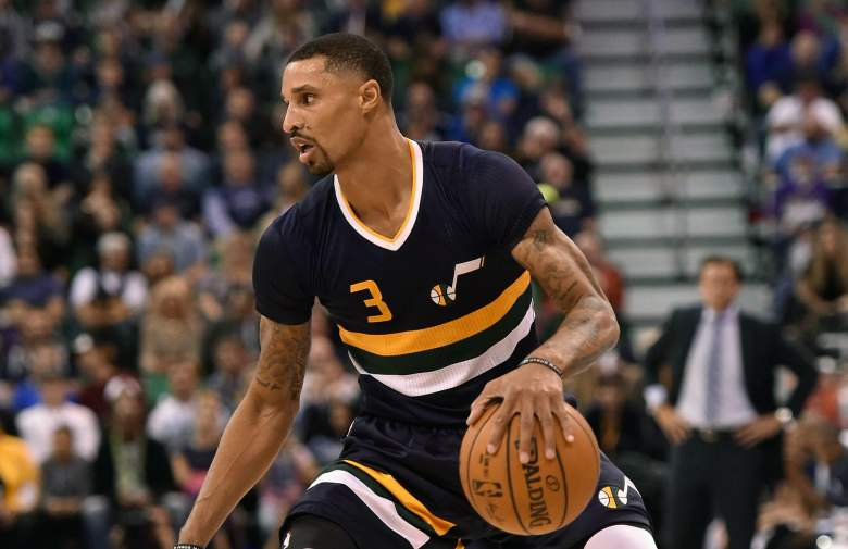 George Hill Lakers vs. Jazz