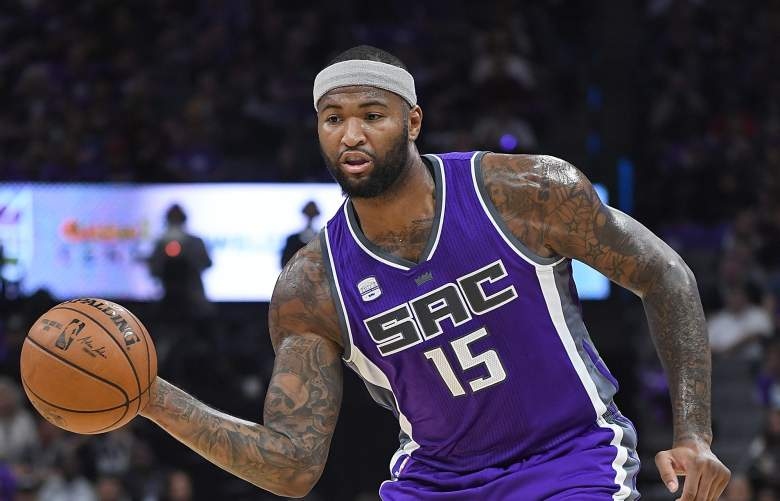 DeMarcus Cousins Kings