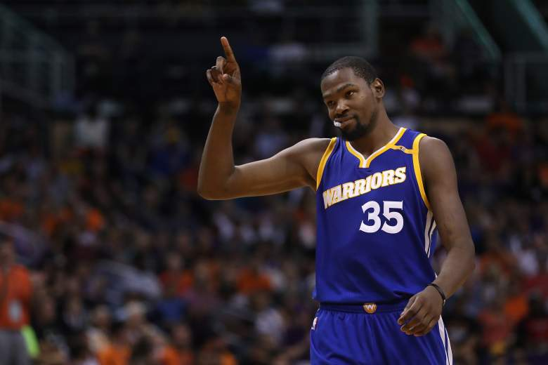 Kevin Durant Warriors vs. Suns