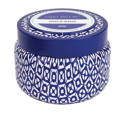Capri Blue Volcano Printed Travel Tin Candle, 8.5 Ounce by Aspen Bay, best stocking stuffers