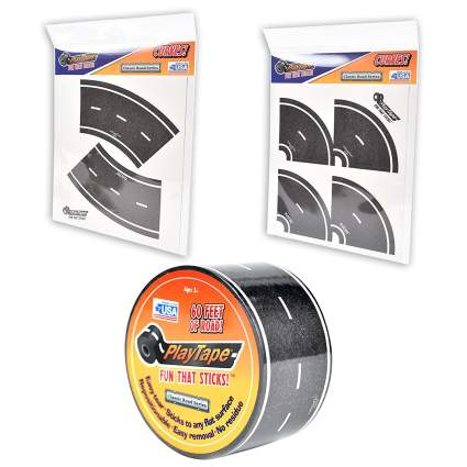 PlayTape Road Build-N-Drive Starter Set , best stocking stuffer