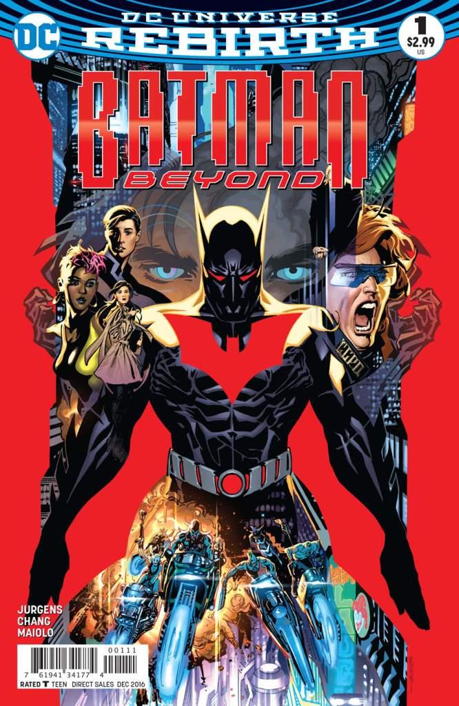 Batman Beyond 1, Batman Beyond, Ryan Sook