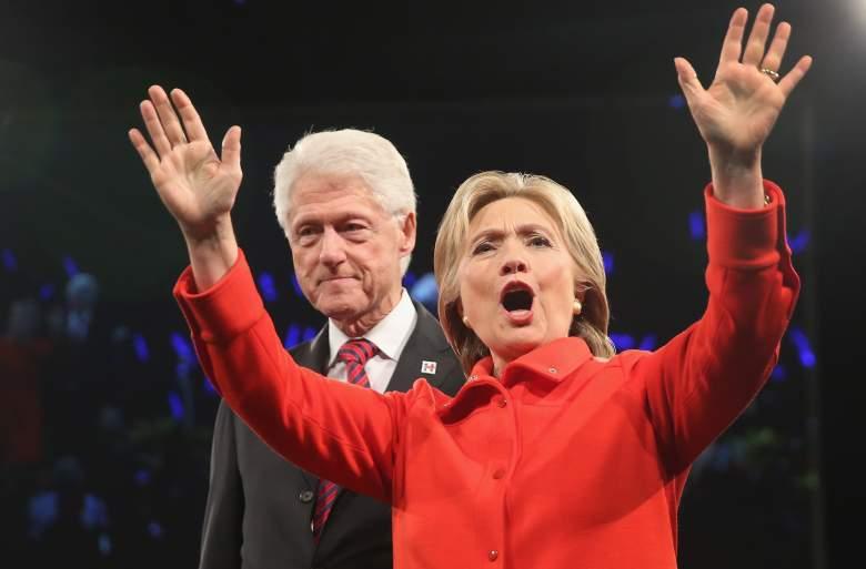 Bill Clinton rapist, Bill Clinton women, Hillary and Bill Clinton marriage, Clinton responds to heckler, Clinton rally