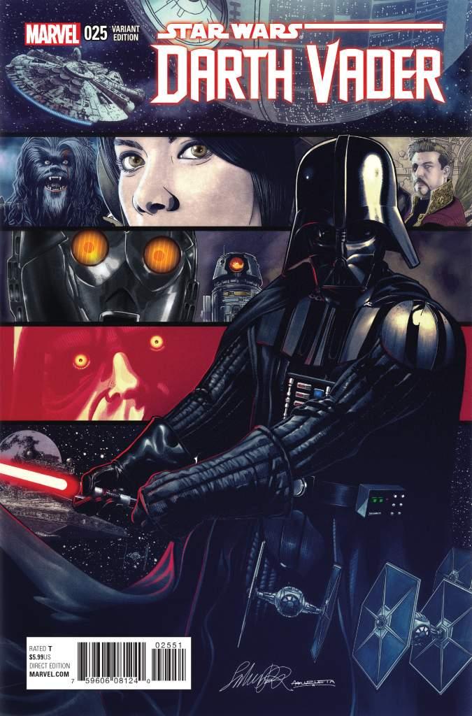 Salvador Larroca, Darth Vader 25, Darth Vader variant cover, Darth Vader comics