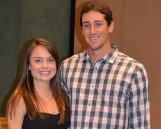 Emma Cain Kyle Hendricks, Kyle Hendricks girlfriend, Kyle Hendricks fiancé, Chicago Cubs starting pitcher, Dartmouth College