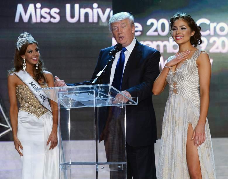 Donald Trump, Miss Universe Donald Trump, Miss USA Donald Trump