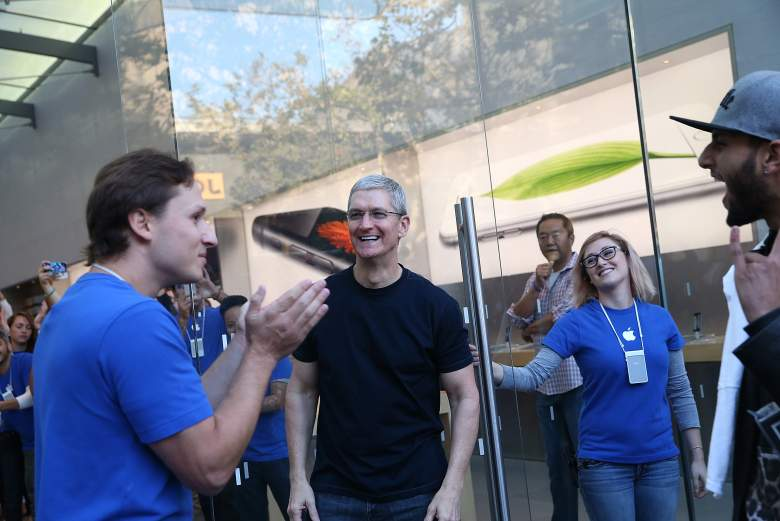 Tim Cook Apple CEO Touch Disease