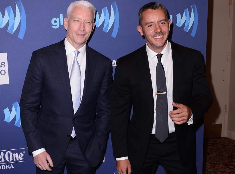 Benjamin Maisani Anderson Cooper, Benjamin Maisani GLAAD awards, Benjamin Maisani Anderson Cooper GLAAD