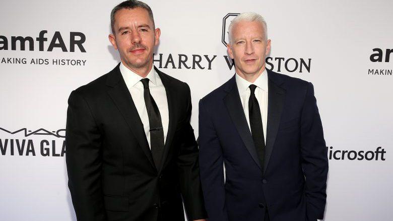 Benjamin Maisani Anderson Cooper, Benjamin Maisani Anderson Cooper red carpet, anderson cooper partner