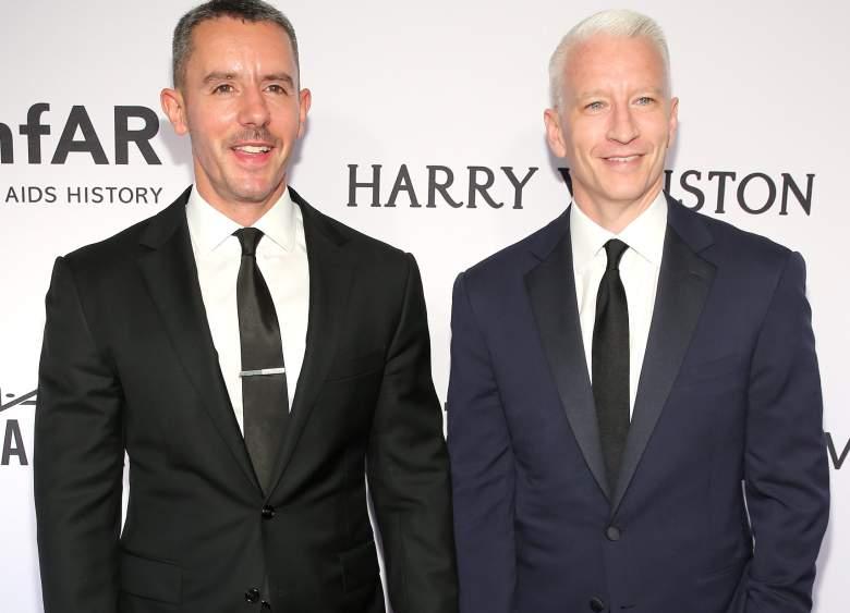 Benjamin Maisani Anderson Cooper, Benjamin Maisani Anderson Cooper red carpet, Benjamin Maisani red carpet