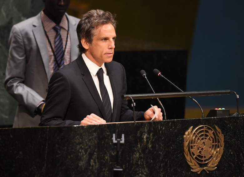 Ben Stiller, Ben Stiller cancer, Ben Stiller UN, Ben Stiller Howard Stern