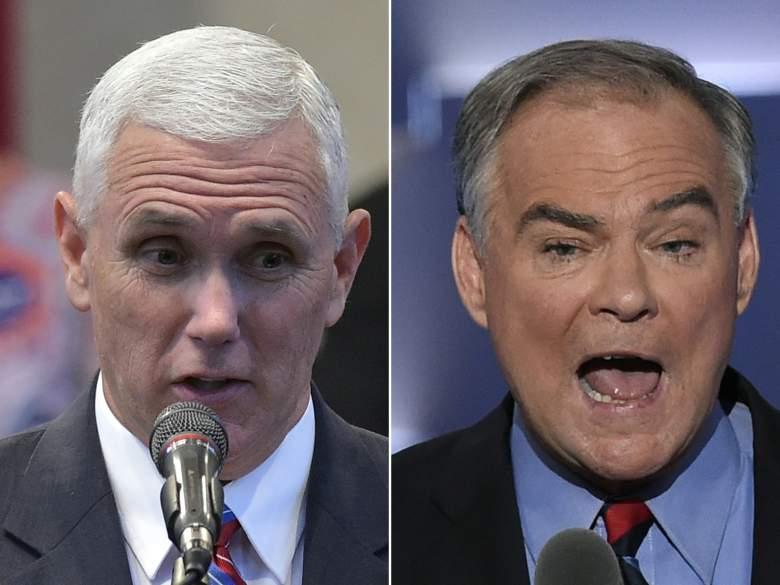 vice presidential debate channel