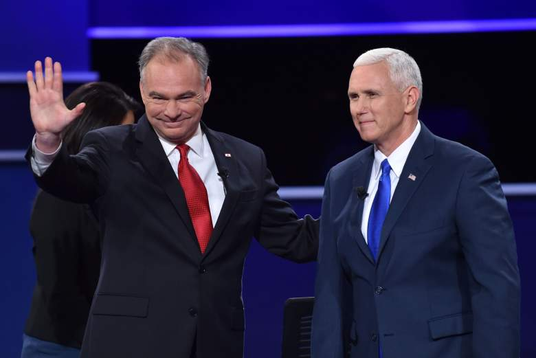 Tim Kaine, Mike Pence