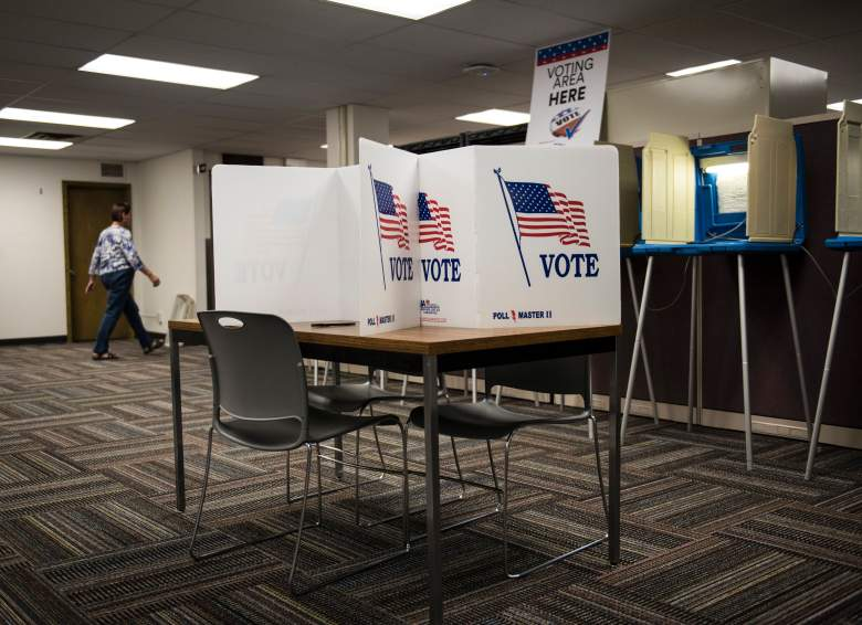 A general view inside the Early Vote Center in downtown Minneapolis, Minnesota on October 5, 2016. (Getty)