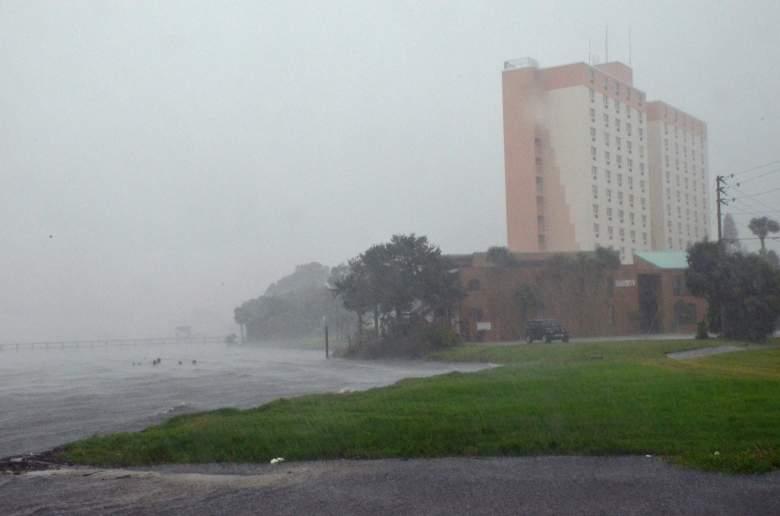 Titusville, Florida, Hurricane Matthew, Hurricane Matthew photos, Hurricane Matthew damage