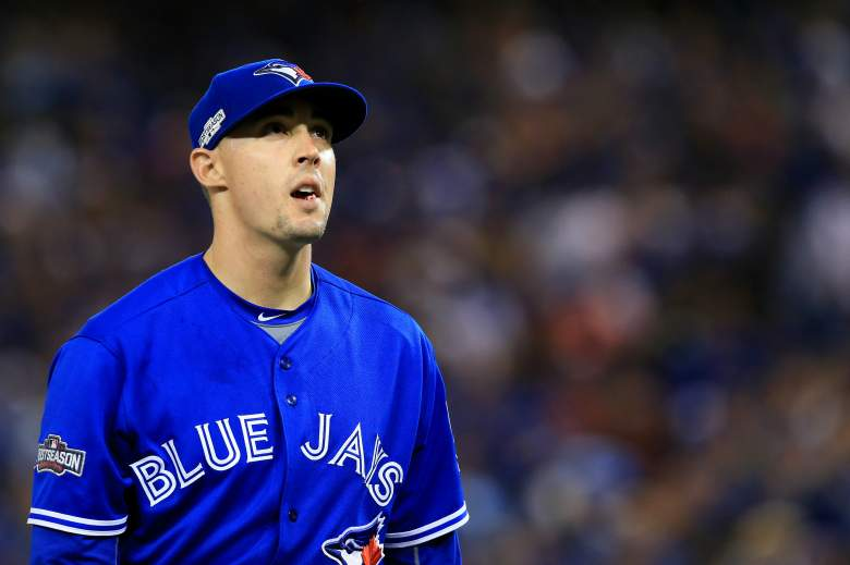 Aaron Sanchez, Toronto Blue Jays, Game 4 starter, ALCS Game 4 pitcher