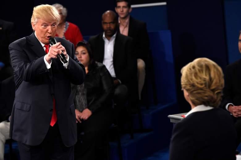 Donald Trump, presidential polls, latest, winning, ahead, who, trump vs. clinton, tape