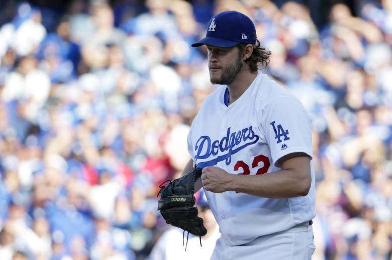 clayton kershaw, dodgers vs. cubs, game 2, starting pitchers, nlcs, when, start, first pitch, who, where, tv channel