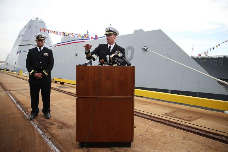 USS Zumwalt Commissioned October