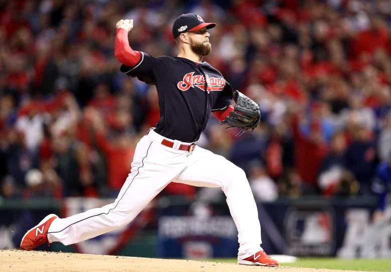 Corey Kluber, Cleveland Indians