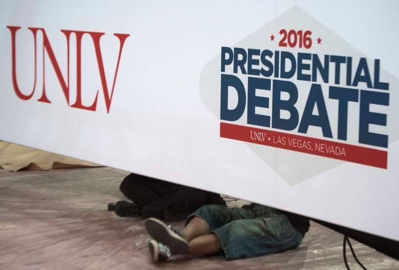 UNLV, University of Nevada Las Vegas, third debate venue, Thomas & Mack Center