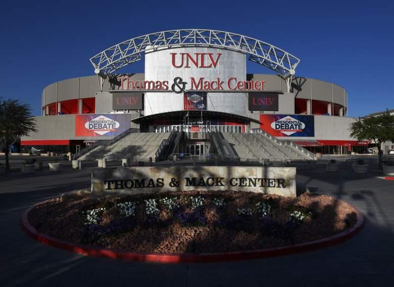 UNLV, UNLV debate, last presidential debate, debate venue