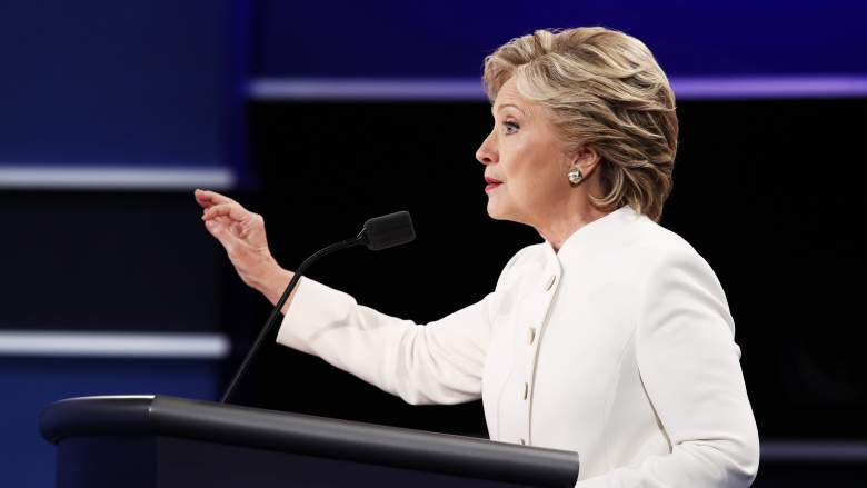 Hillary Clinton debate, Donald Trump debate, Donald Trump debate