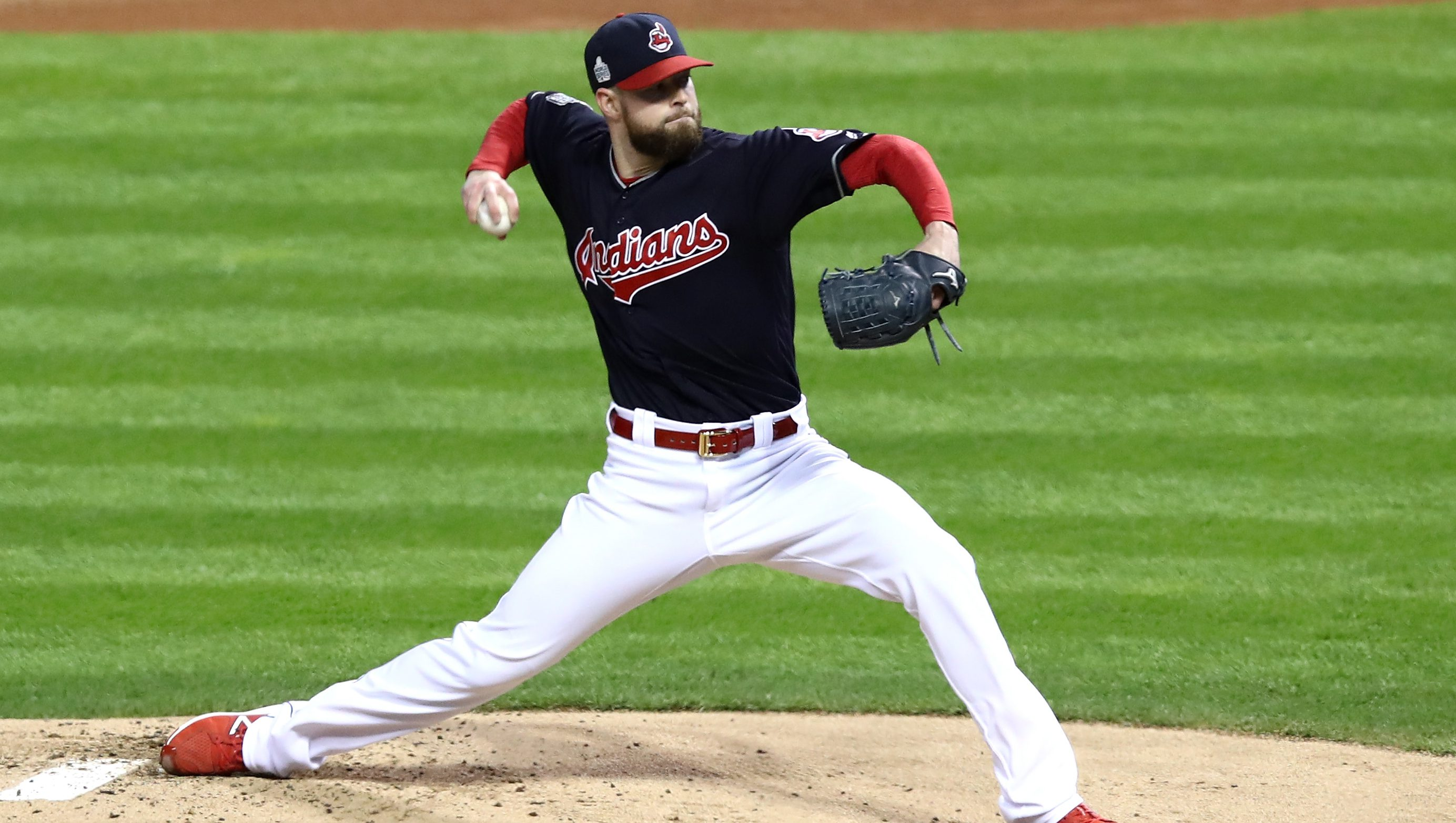 indians cubs score highlights series game heavy vs getty