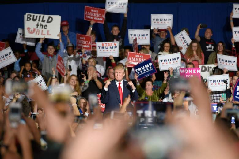 Trump Geneva rally, Trump Geneva event, Trump Geneva speech