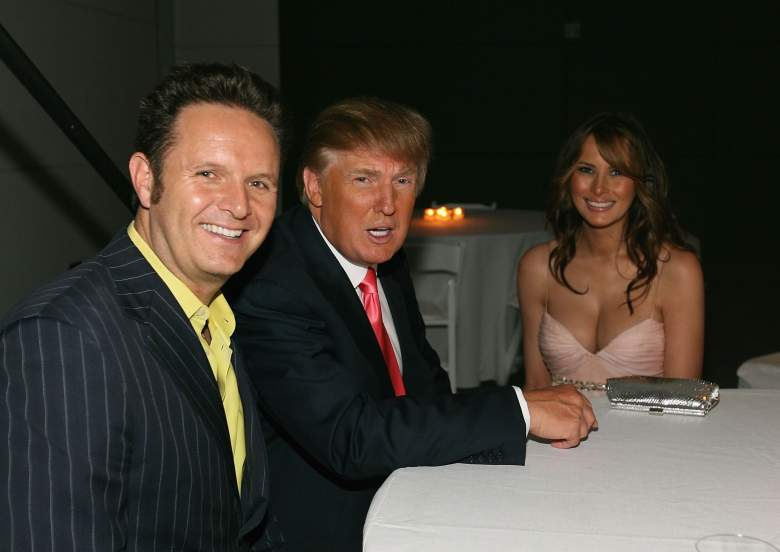 Melania Trump 2006, Donald Trump, Mark Burnett, The Apprentice Producer