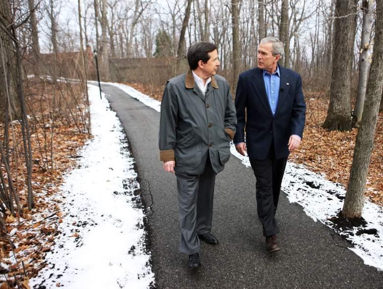 Chris Wallace George Bush, chris wallace george w bush interview, chris wallace george bush camp david