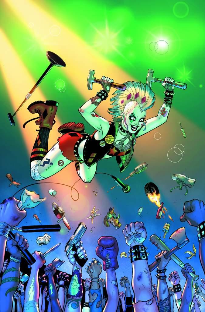 Amanda Conner, DC Comics, Harley Quinn, new Harley Quinn comics