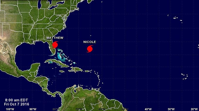 Hurricane Matthew damage, Hurricane Nicole, Hurricane Nicole wind speeds, when does Nicole make landfall, Florida hurricanes