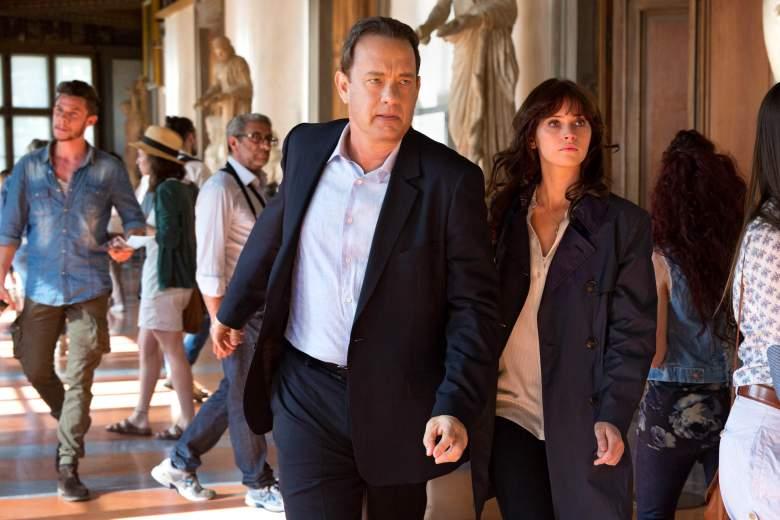Inferno, Tom Hanks, Felicity Jones, Inferno cast, Inferno reviews