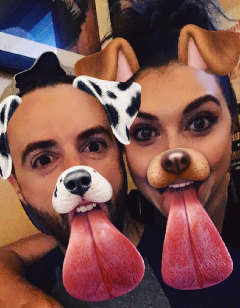 James Hinchcliffe, Jenna Johnson, James Hinchcliffe And Jenna Johnson, James Hinchcliffe DWTS, James Hinchcliffe Dancing With the Stars, DWTS Pros, Dancing With the Stars Pros, Jenna Johnson Instagram