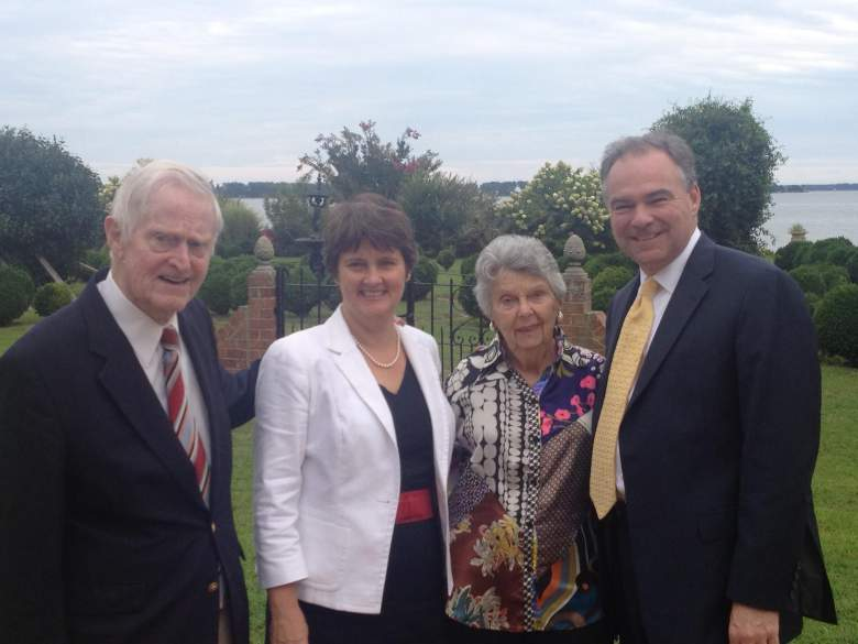 Tim Kaine in-laws, Linwood Holton, Tim Kaine Linwood Holton