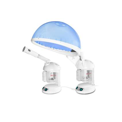 two in one hair and facial steamer