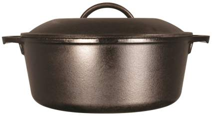 lodge-l8dol3-cast-iron-dutch-oven-with-dual-handles